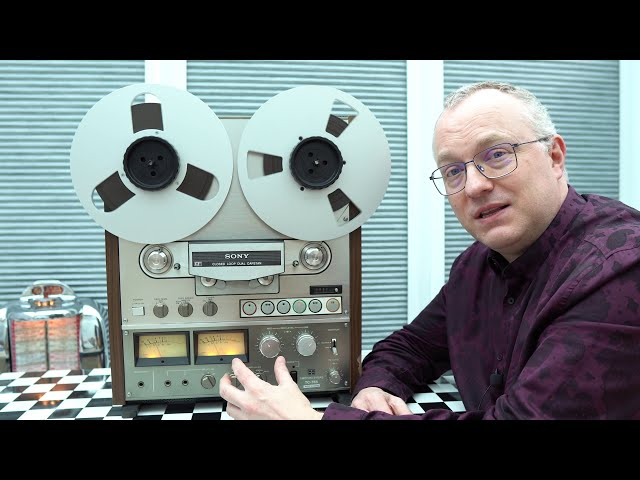 A leisurely look at the classic Sony TC-765 Reel to Reel Tape Recorder