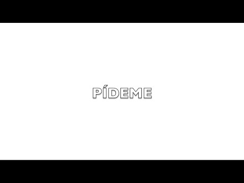 Antonio Orozco - Pídeme - Letra