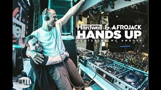 Смотреть клип Hardwell & Afrojack Ft. Mc Ambush - Hands Up