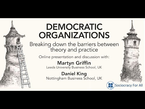 Democratic organizations. Breaking down the barriers between theory and practice