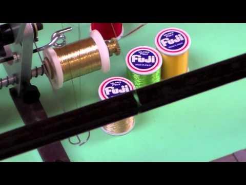 Custom Rod Building Thread Inlays