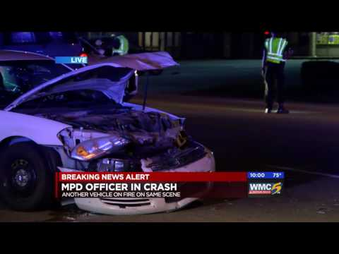 Memphis Officer Involved Crash A-Block Hit
