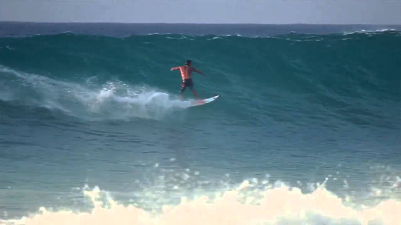 Surfing Brazil   15-20 foot waves with Paulo Moura (HD) - YouTube