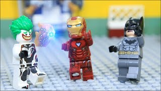 LEGO Avengers IRON MAN's SPACE STONE was Stolen