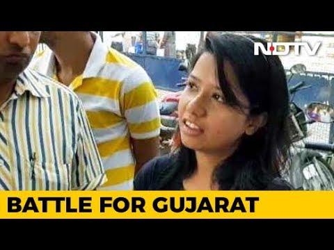सूरत में मतदाताओं ने NDTV से कहा, विकास और स्त्री सुरक्षा के मुद्दे पर दिया वोट