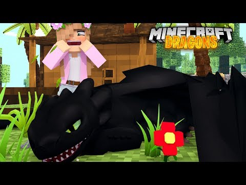 THE NIGHT FURY GETS POISONED | Minecraft DRAGONS w/ Little Kelly thumbnail