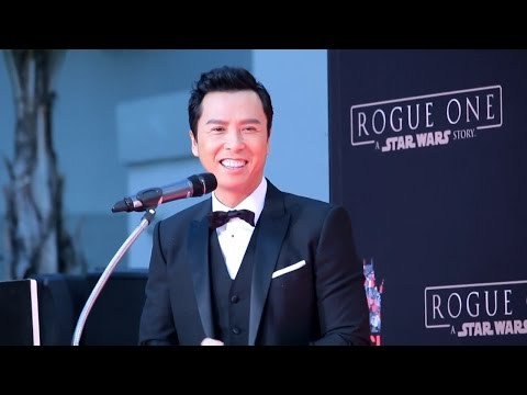 TCL CHINESE THEATER- DONNIE YEN
