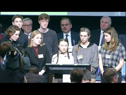 """""""You're acting like spoiled irresponsible children"""" - Speech by Greta Thunberg, climate activist"""