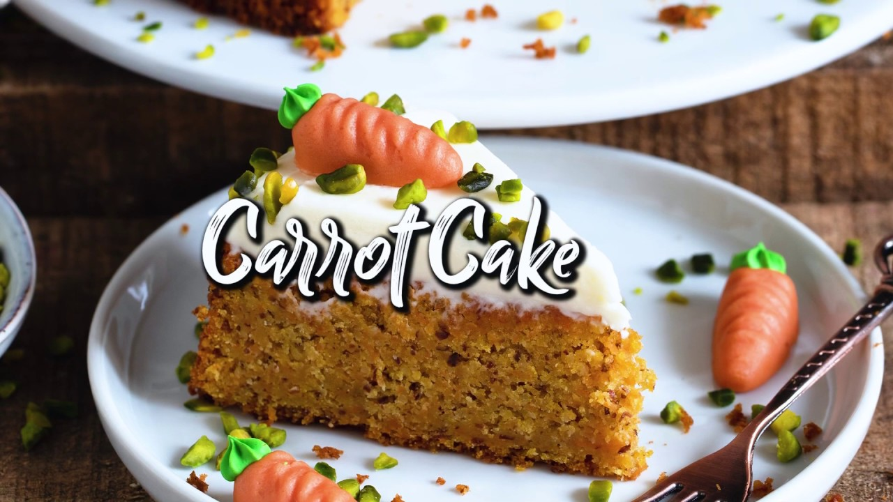 Best Vegan Carrot Cake * Soft, Moist, Delicious, Simple * Quick & Easy One-Bowl Recipe