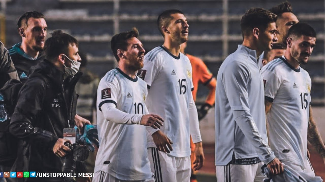 Messi After the Match Vs Bolivia | Historical Win