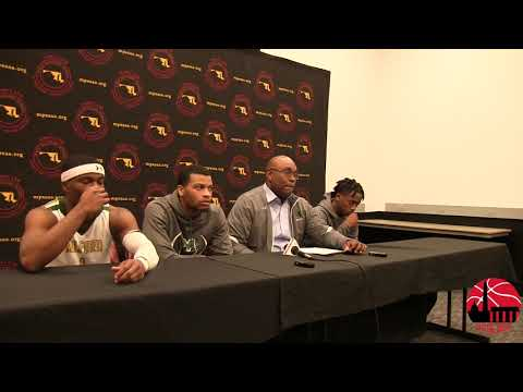 Milford Mill Press Conference after 3A State Semifinal Victory over Thomas Johnson 3/8/18