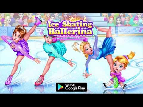 Ice Skating Ballerina