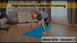 HIIT - Week 9/10 Session 2 (Control)