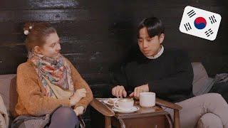 Больше месяца не были в кафе! Наши новости, духи BTS. Катя и Кюдэ/Южная Корея