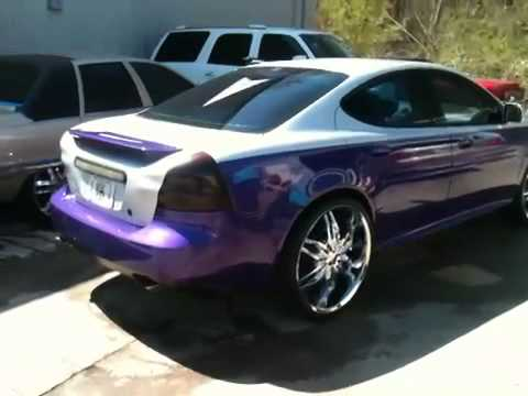 Pontiac gp with 24z custom by southside rims