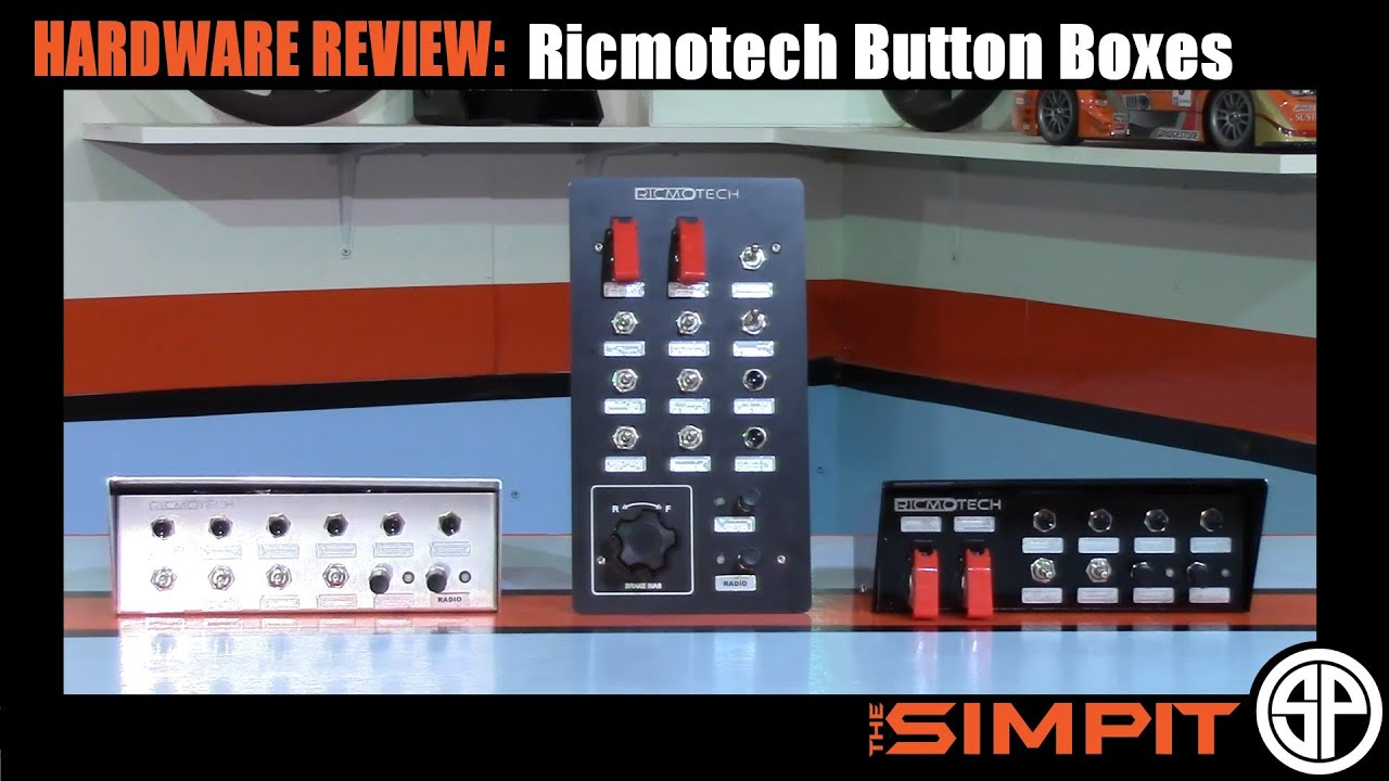 Hardware Review: Ricmotech Button Boxes by The Simpit
