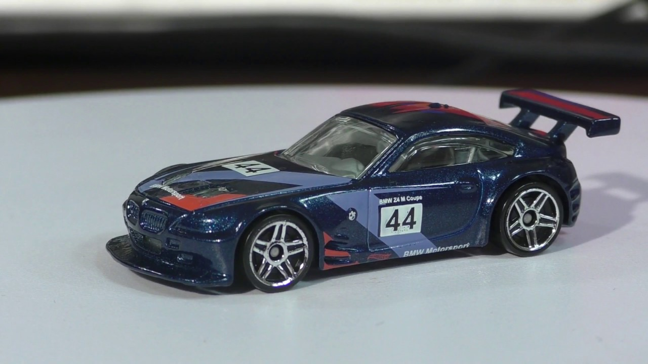 2016 Hot Wheels K Case Bmw Z4 M Motorsport Youtube