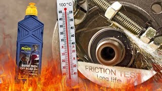 Putoline Ester Tech Off Road 4+ 10W40, Як ефективно олія захищає двигун? 100°C