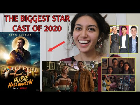 Hubie Halloween Starring Adam Sandler Official Trailer Netflix Reaction Youtube