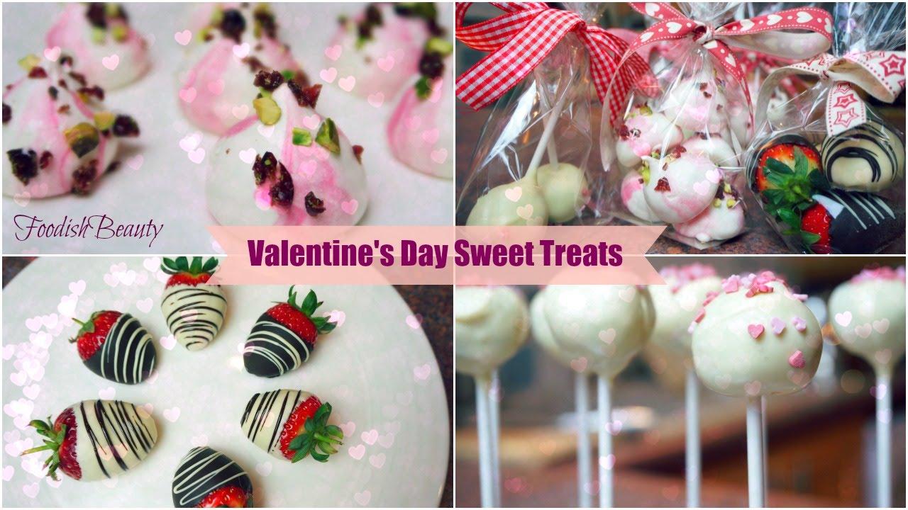 Diy Valentine S Day Sweet Treats Edible Gift Ideas Foodishbeauty