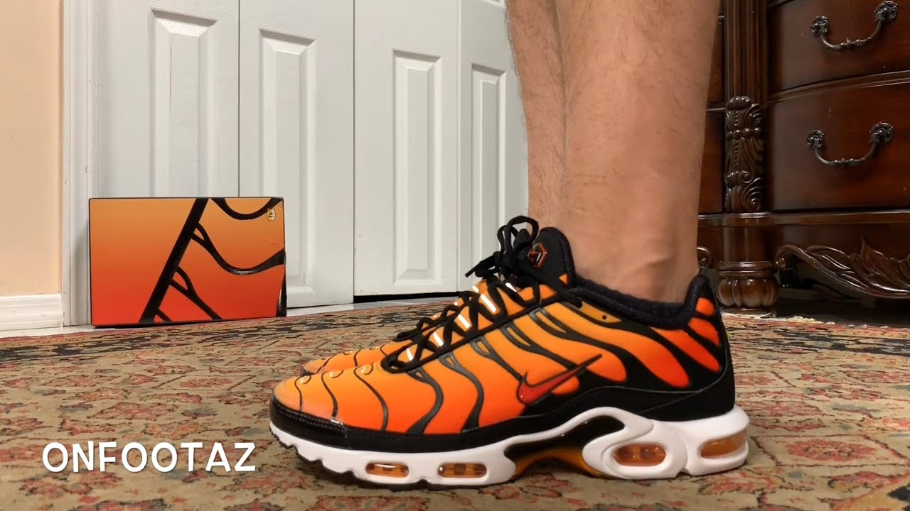 air max plus orange og