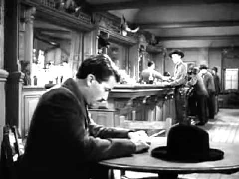 The Gunfighter  Gregory Peck 1950  YouTube