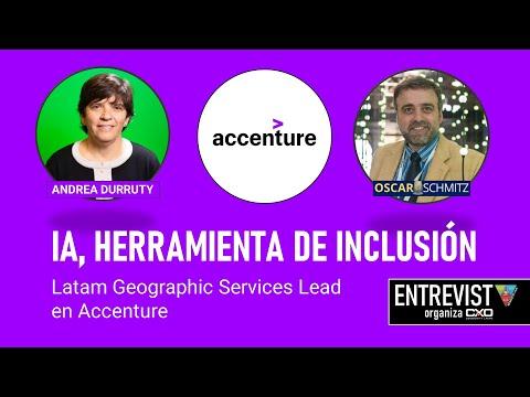 🎙️ Andrea Durruty (Accenture) 💪  Inteligencia artificial como herramienta de inclusión 🚀