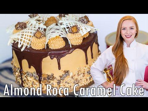 EPIC CAKES: Almond Roca Cake