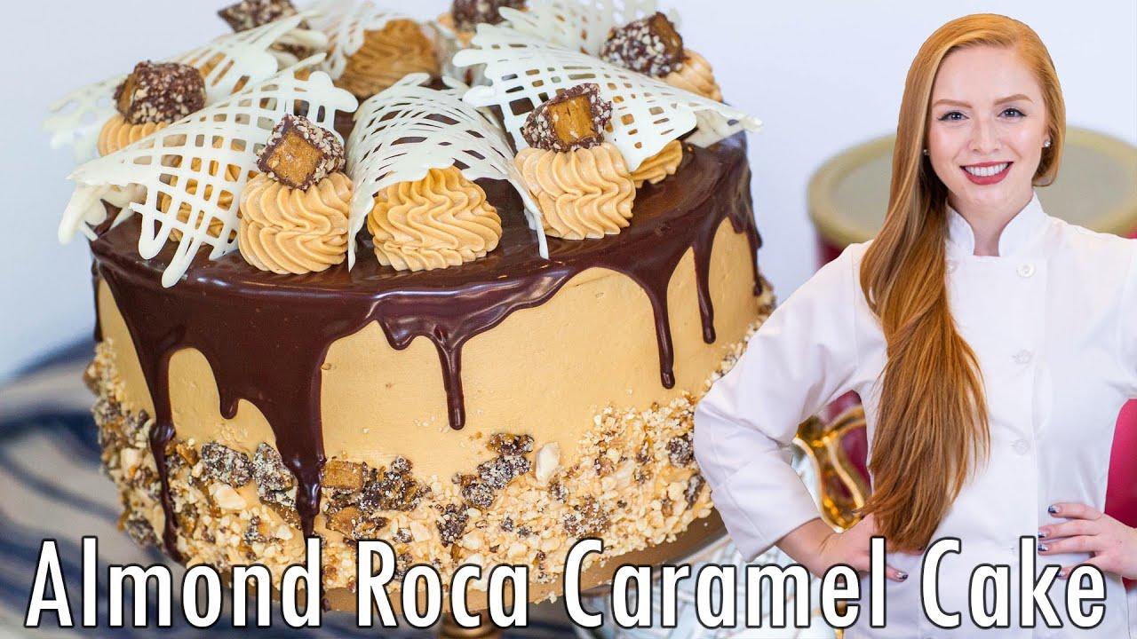 Epic Cakes Almond Roca Cake Youtube