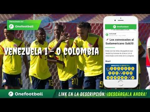 VENEZUELA 1 - 0 COLOMBIA SUB 20, VENEZUELA CON 10 JUGADORES LE GANO A COLOMBIA.