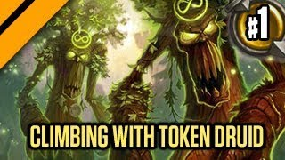 Hearthstone: The Witchwood - Insane Token Druid P1