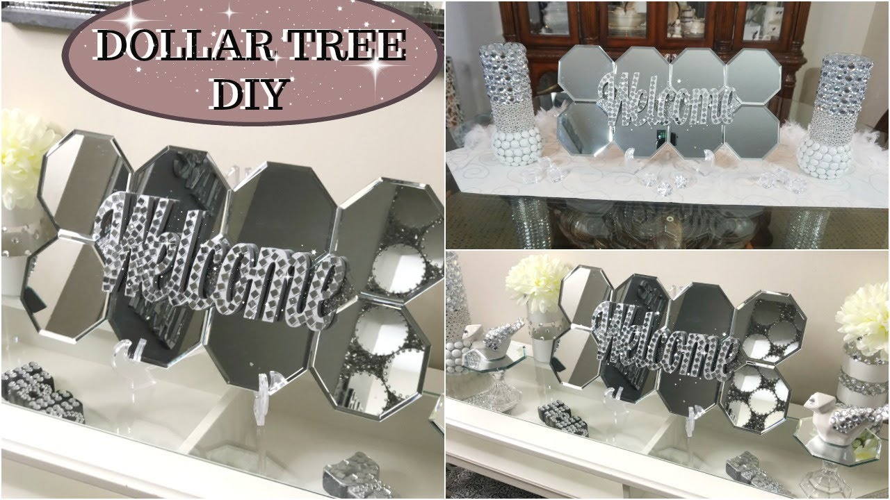 DIY DOLLAR TREE GLAM HOME DECOR