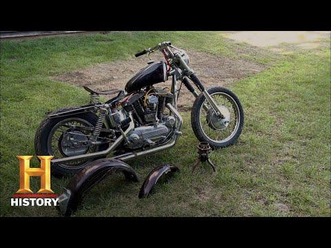 American Pickers: Vintage '69 Harley Sportster (Season 8) | History