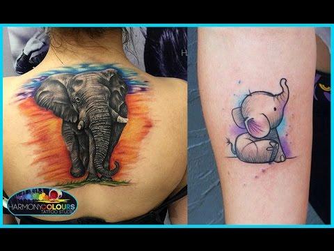 Mejores Tatuajes de Elefantes