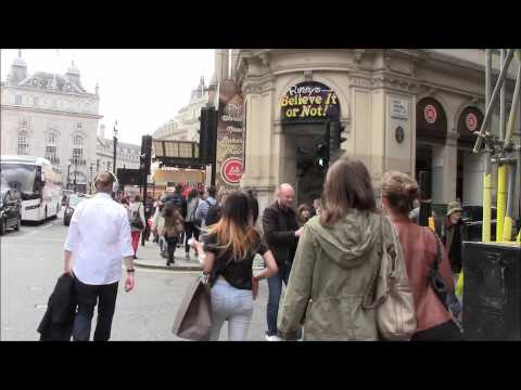 Walking in London 1: Leicester Sq to Piccadilly Circus