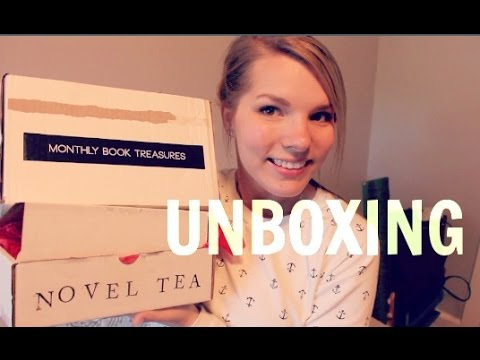 Novel Tea Club & Fairy Loot Unboxings!