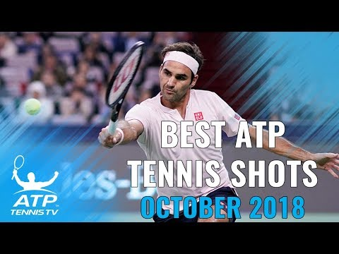 Top 20 Best ATP Tennis Shots from October 2018!