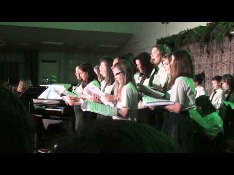 Sussex Carol - English Traditional  Nunnery Wood High School Choir 2011