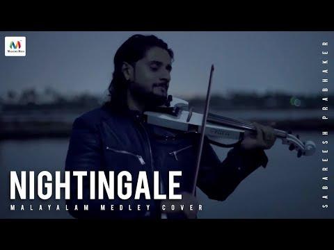 Nightingale  Sabareesh Prabhaker Malayalam medley cover 4K