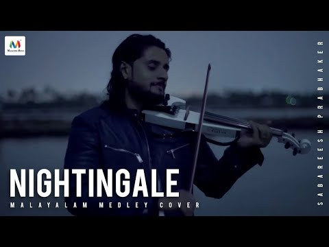 Nightingale  Sabareesh Prabhaker Malayalam Medley Cover 4k
