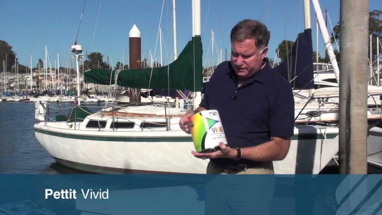 vivid antifouling boat paint Petit bottom