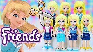 Fixing Stephanie's Hair - Lego Friends Minidoll Dress Up Hairstyles