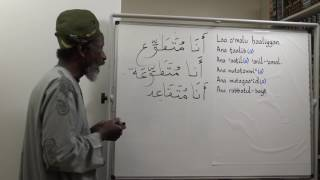 Let's Speak Arabic Unit One, Lesson Sixteen