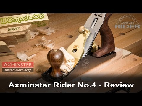 Axminster Rider No.4 Review