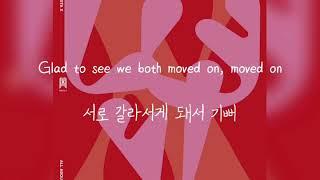 몬스타엑스(MONSTA X) - HAPPY WITHOUT ME [한글 가사 해석]