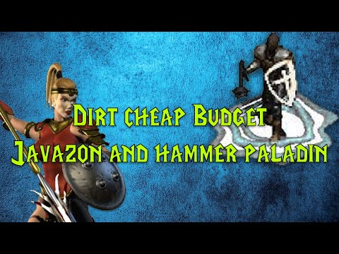Diablo 2: Best two budget builds - Dirt cheap Hammer paladin vs Javazon guide