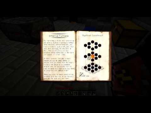 Thaumcraft 3 - Part 11 - The Infernal Furnace - YouTube