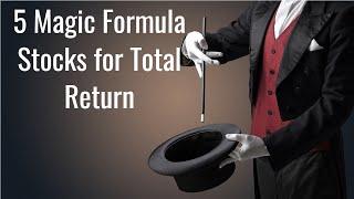 5 Midcap Magic Formula Stocks For Total Return