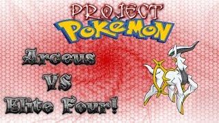Roblox Project Pokemon - Arceus VS Elite Four! - Live Commentary