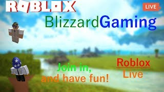 Gaming with the viewers, Come and join! | Road to 100! | ROBLOX